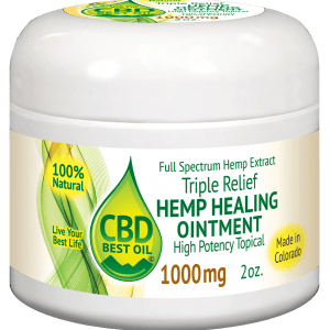 CBD1000salve3D2 300x300 - Triple Relief Salve Ointment - 250mg, 500mg, 1000mg - Full Spectrum