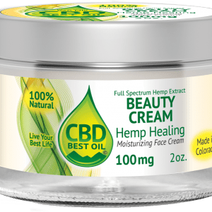 CBD100face3D2 300x300 - Beauty Face Cream 100mg - Full Spectrum