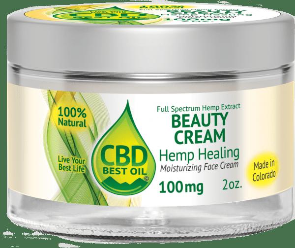 CBD100face3D2 600x504 - Beauty Moisturizing Face Cream 100 mg