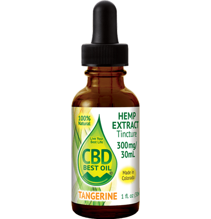 Flavored 300 mg Tinctures tangerine - Naturally Flavored 300mg - 2000mg Tinctures  Full Spectrum