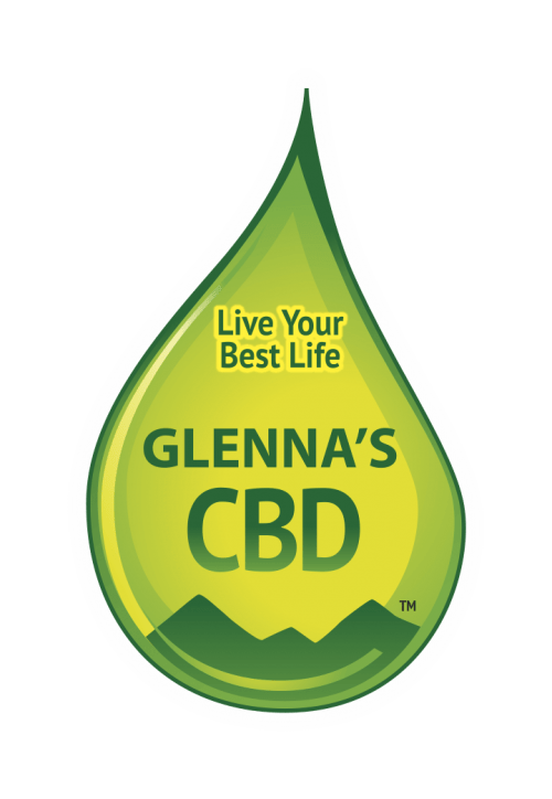 Glennas CBD Logo e1612373525241 - Relaxing CBD Bath Bomb 20mg and Himalayan Bath Salts