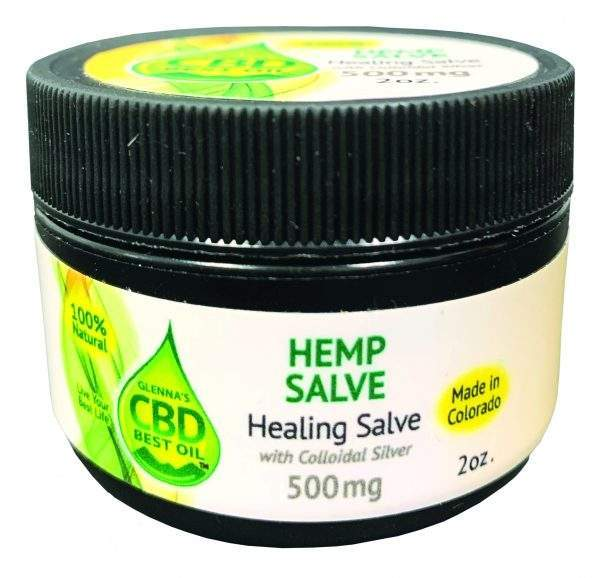 Healing Salve with Colloidal Silver 600x578 - Colloidal Silver Salve 500mg - Full Spectrum