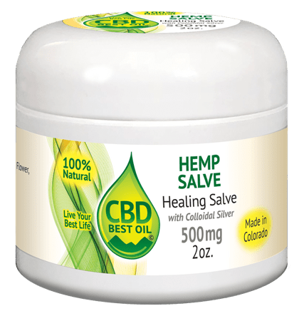 Healing Salve with Colloidal Silver image - Healing Salve with Colloidal Silver 500 mg