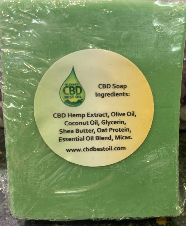 IMG 6991 scaled e1606775794686 - CBD Face, Hand & Body Soap - Full Spectrum 20mg